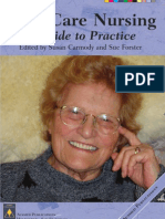 Aged Care Nursing A Guide to Practice.