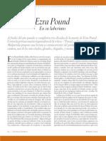 Ezra Pounds en su laberinto