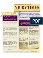New Online Newsletter Now Available! NY Injury Times-Jan. 2013