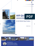 Western Cape Air Quality Management Plan