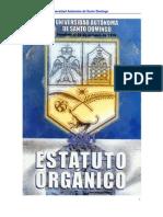 Estatuto Organico de la UASD