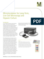 Microincubator for Long-Term, Live Cell Microscopy and Hypoxic Culture