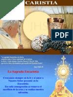 La presencia real de Jesucristo en la Sagrada Eucaristía