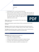 Tips on writing a literature review