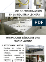 CONSERVACION DE LA LECHE