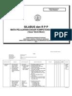 Silabus dan RPP Teknik Pemesinan