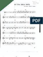 Samba de una sola nota