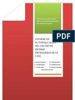 Informe de Autoevaluacion del Centro de Idiomas Extranjeros Facultad de Artes y Humanidades UCSG