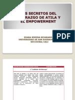 LOS SECRETOS DEL LIDERAZGO DE ATILA Y EL EMPOWERMENT