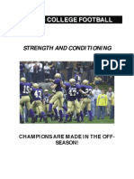 Albion College Strength & Conditioning Manual