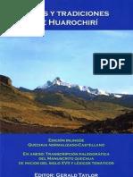 Manuscrito Quechua de Huarochirí