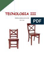 Analisis sistemico de la silla de madera