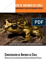 Libro conservación Anfibios de Chile