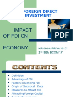 the impact of fdi in india