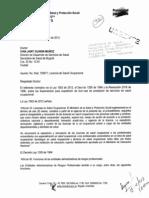 Concepto del ministerio de salud y protección social sobre licencias de salud ocupacional