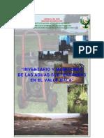 INVENTARIO Y MONITOREO DE LAS AGUAS SUBTERRNEAS