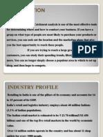 catchment analysis of Big Bazaar