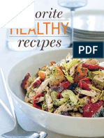 Food and Wine - Favorite Healthy Recipes