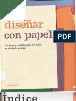 Diseñar con papel