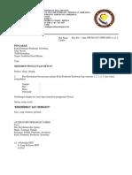 Contoh Surat Permohonan Dewan