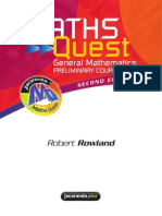 Preliminary General Maths Text Book