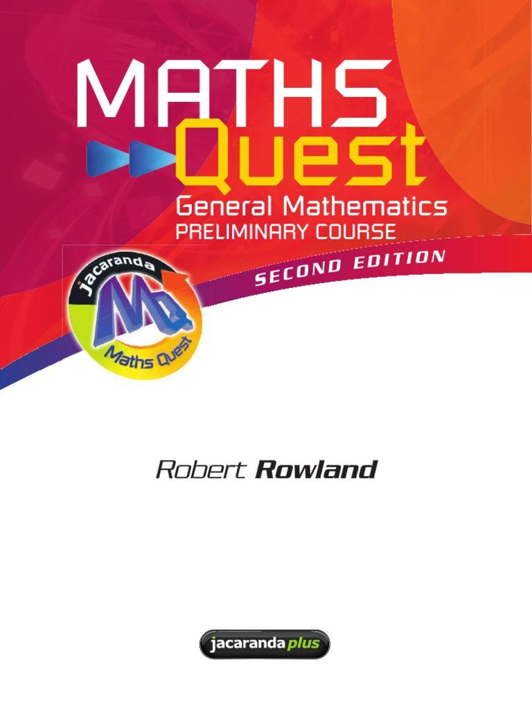 6cb667acb2158 Preliminary General Maths Text Book