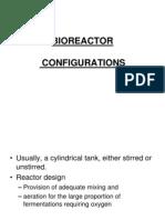 Bioreactor Configurations