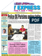Police DG Purisima arrives today