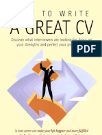How to Write a Great CV.
