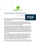 Characteristics of the earthworm - Staratel from www.GreenTerraUral.Com