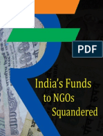 Indian govt's funding of NGOs a major scam