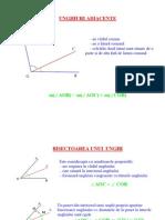 Geometrie clasa a VI-a