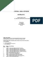Opera Aria Finder Soprano13p