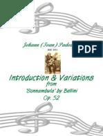 Ivan Padovec uvod i varijacije op.52.