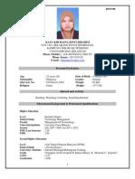 Full Resume (English)