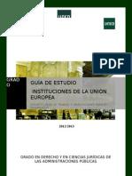 Guia instituciones union europea