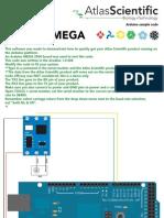 Arduino sample code