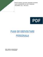 model de plan de dezvoltare