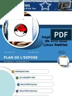 Implementation de VPN Sous Linux RedHat