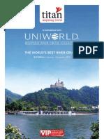 Uniworld river cruise brochure 2013