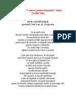 In Memoria Al. Gregorian - Ele, Cuvintele  - Autor Ovidiu Vuia -