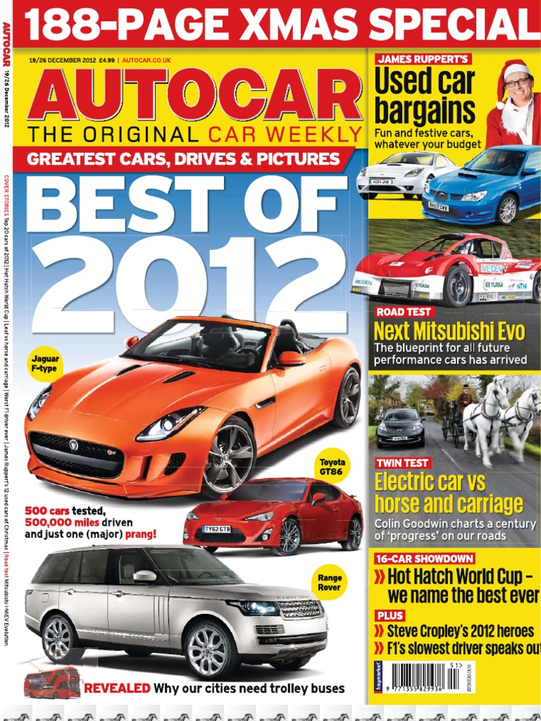 the best auto-car of UK. December 2012