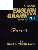 A Basic English Grammar With Answers-  (Part One)