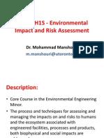 Environmental Impact Notes
