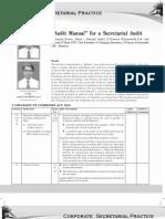 Corporate Secretarial Manual