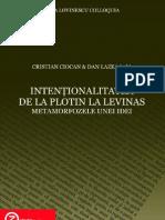 Ciocan intentionalitatea de la Plotin la Levinas