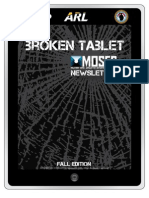 The Broken Tablet - MOSES Newsletter - Fall 2012 Edition