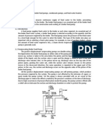 2. Operation of Boiler Feed Pumps Etc