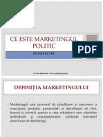 marketing politic