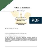 Devotion in Buddhism